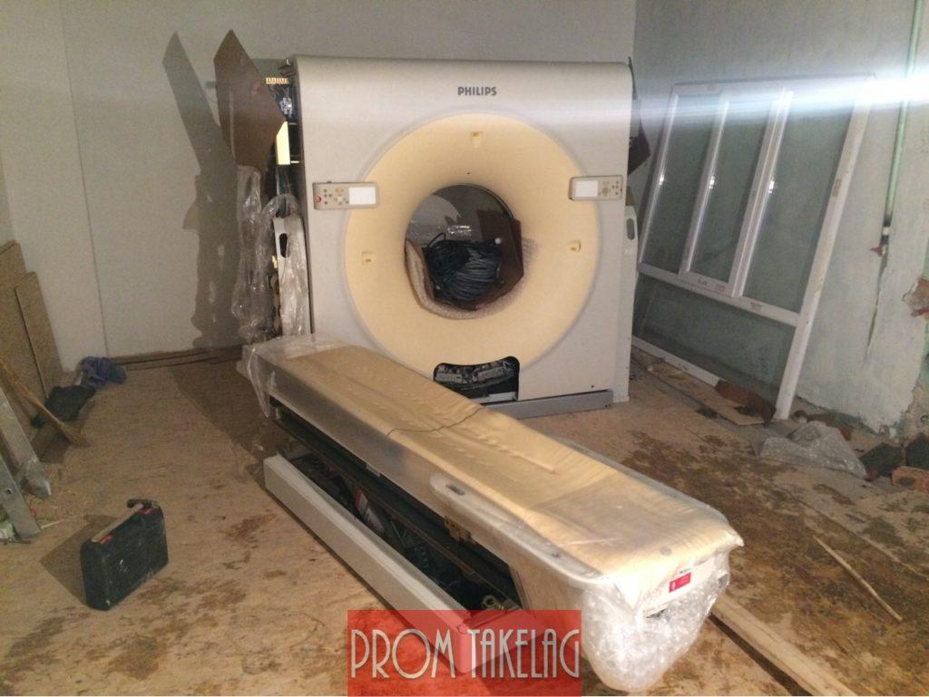 Перевозка и установка медицинского Томографа