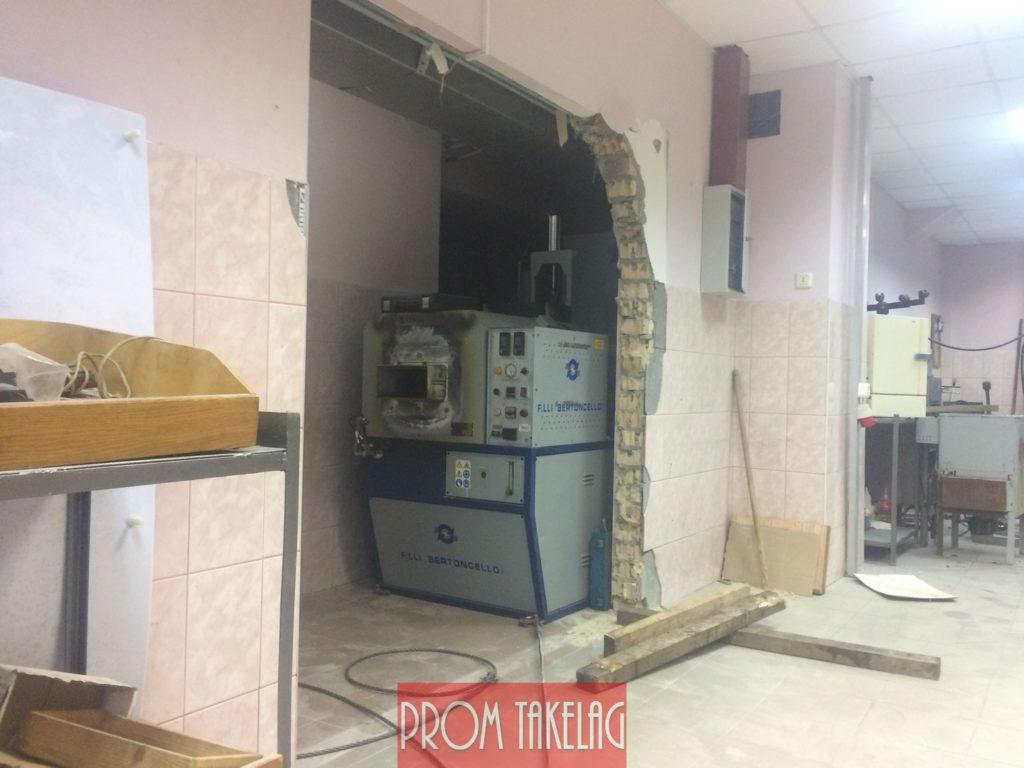 Сложный Такелаж на Киевском ювелирном заводе